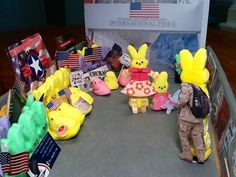 Welcome Home Peeps Created by Carol Mohsberg, 59, of Annapolis, Md. 'This diorama depicts the scene at BWI Airport during one of their 'Operation Welcome Home Maryland' events. You cannot attend one of these events with getting a lump in your throat (or a tear in your eye!)'