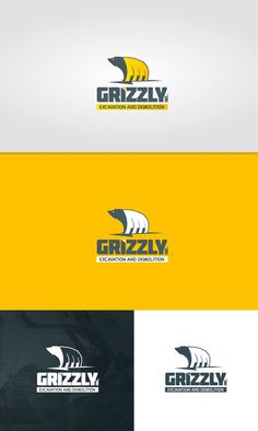 Design #146 by Kiboo ™ | Create a logo for GRIZZLY... Excavation and Demolition