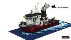 LEGO Ideas - Tugboat Cerbero