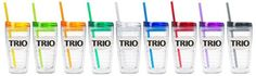 New colors TRITAN 16oz (CASE OF 75) now on theTRIOstore.com. Nine color options, Orange, Blue, Green, Red, Purple, Yellow, Lime Green, Charcoal or Clear. See TRITAN 16oz (CASE OF 75). http://proformatrioideas.com/ #TRIO #TRIOWorks