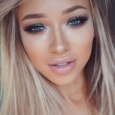 Very nice job on makeup. The soft look and then total emphasis on the eyes is excellent.