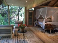Luxury tented suites, a forest suite and a honeymoon suite make Summerfields the perfect place to relax. Forest Room, Honeymoon Suite, Luxury Tents, Front Office, Open Plan, Glamping, My Dream Home, Perfect Place, Spa
