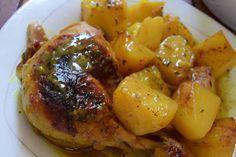 Κοτόπουλο με πατάτες φούρνου το κάτι άλλο σε γεύση !!! ~ ΜΑΓΕΙΡΙΚΗ ΚΑΙ ΣΥΝΤΑΓΕΣ Turkish Recipes, Greek Recipes, Ethnic Recipes, Smoothie Recipes, Snack Recipes, Cooking Recipes, Greek Marinated Chicken, Cypriot Food, Yummy Food