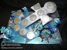 Букеты из конфет - Якорьки