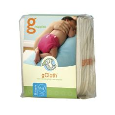gDiapers Cloth Diaper Inserts, Small / Preemie (6 Count) by gDiapers. $26.39. gCloth inserts offer a washable and reusable option for gDiapers. They are designed specifically to fit our soft little gPants so they don't require any folding. They provide the same trim fit as our biodegradable gRefills without giving up the absorbency. Two layers of soft 100% polyester microfleece wick moisture away from baby's bottom keeping it feeling dry and comfortable. Two layers o...