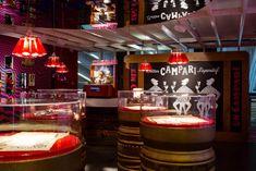 Galleria Campari, a taste for art in advertising - Italian Ways Campari And Soda, Brand Management, Management Tips, Creative Design, Branding, Gallery, Film Festival, Venice, Connection