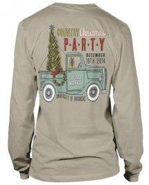 Sigma Kappa Christmas Long Sleeve T-shirt