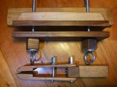 Leather Stitching Pony Woodworking Pattern by BrassrootsLeather