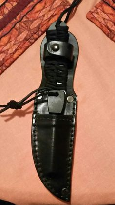 Tactical knife sheath