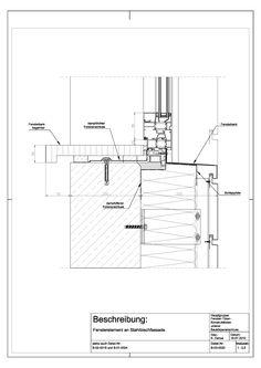 B-03-0020 Window element on sheet steel facade B-03-0020