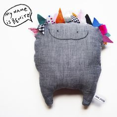 ♥ this softie!! Bunting monster :)