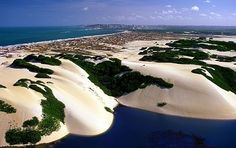 Genipabu is a beach with a complex of dunes, a lagoon and an environmental protection area in Natal, Rio Grande do Norte.