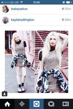 Leopard print kayla Hadlington