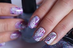 Nail art for PearlyWhisper Bohemian contest ------ Nail art de concours - Bohemian par Pearly Whisper