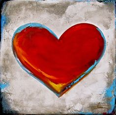 Heart Art, My Heart, Heart Painting, Heart Images, Arts And Crafts, Paintings, Photos, Beauty, Heart