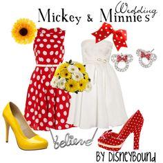 Mickey and Minnie's wedding