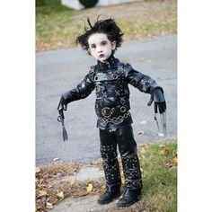 edward scissorhands. My poor future kids will be forced into weird costumes like this...