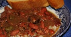 Rip Roarin' Red Beans And Rice Straight From The Bayou!
