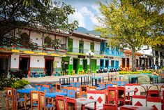 Jardin, Antioquia, Colombia. from alongdustyroads.com