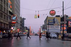 Fred Herzog, Vancouver, 1960. early color photography from the 1950s/1960s, using a social documentary style