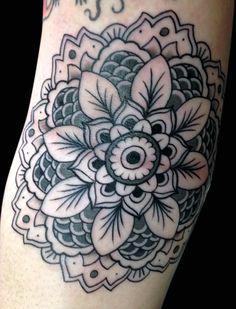 Mandala Tattoo by Jai Liddle, tattooed @ The Hubb, Newcastle