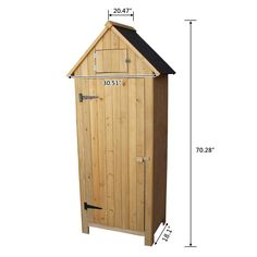 Wooden Garden Shed Tool Shed Organizer Fir Wooden Lockers ** You can find more details by visiting the image link.-It is an affiliate link to Amazon.