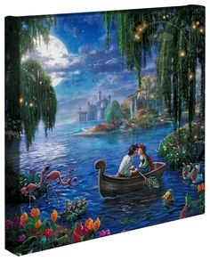 Little Mermaid II, The – 14″ x 14″ Gallery Wrapped Canvas This would  go so well in my collection