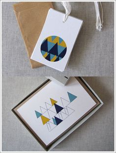 Wooded Hills by Karte Paper