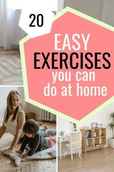 Can't go to the gym? No Worries! Here are 20 easy exercises that you can do at home with no equipment needed. Stay in shape on a budget. Easy Workouts, At Home Workouts, Home Exercise Program, Stay In Shape, Workout For Beginners, Going To The Gym, You Fitness, You Can Do, Get Started