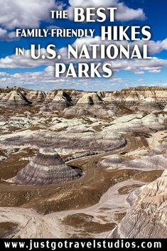 The Blue Mesa Trail in Petrified Forest National Park is one of the hikes featured in our blog on the Best Hikes in U.S. National Parks for Families. See what else made the list! #justgotravelstudios #petrifiedforestnationalpark #bluemesa #bestnationalparkhikes Petrified Forest National Park, Arizona Travel, Beautiful Park, Us National Parks, Best Hikes, Solo Travel, Travel Posters, Where To Go, Just Go