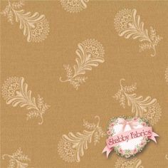 "Collections For A Cause - Circa 1852 46186-13 Tan By Howard Marcus For Moda Fabrics: Collections for a Cause - Circa 1852 is a collection by Howard Marcus for Moda Fabrics. This fabric features a tan floral tossed on a tan background. A portion of the profits from this collection will be donated to the Quilt Alliance. Width: 43""/44""Material: 100% CottonSwatch Size: 6"" x 6"""