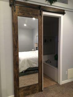 Barn Door Closet, Closet Designs, Interior Barn Doors, Dom, Sliding Doors, My Room, Decoration, Division, Master Bedroom