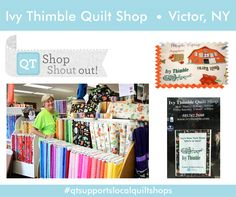 Shout Out to Ivy Thimble Quilt Shop in Victor, NY!