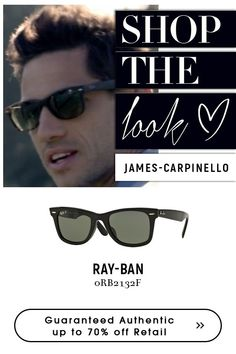 a7154e6d68 James Carpinello with new  rayban  sunglasses.  Superdeals on  rayban   sunglasses
