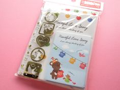 Kawaii Cute Mini Letter Set Crux *Heartful Love Story (01698)