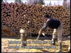 Safer ways of manually chopping wood .. more videos on this at Permies.com click the link.