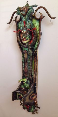 ON THE EASEL: The Lady in Green — The Assemblage Art of Michael deMeng