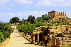 Sicily, Agrigento | the Valley of Temples; ancient greek nam… | oriana.italy | Flickr