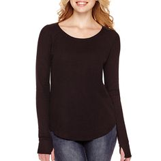 Arizona Long-Sleeve Thermal Top - JCPenney
