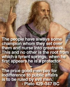 Leave it to Plato to point this one out. Hey at least I didn't vote for the son of a bitch that's in office.