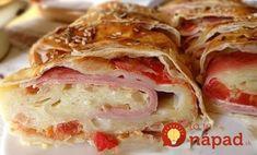 Sonkás-sajtos-paradicsomos rétes - Welcoming Easter: Ham, cheese, tomato pies