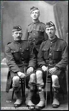 3 Argyll Highlanders (WW1 era)