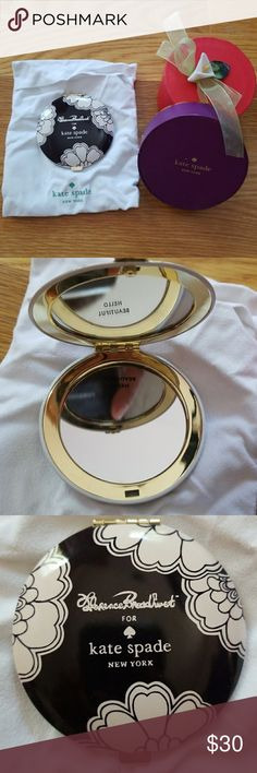 Kate Spade Mirror Never been used!   Comes with Kate Spade Dust bag and box kate spade Other