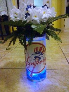 """Baseball """" NY Yankee"""" Theme Wedding"""