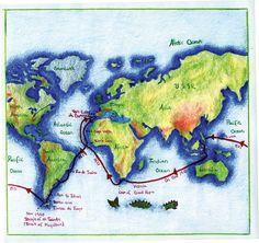 Karen's map - still on the Waldorf site