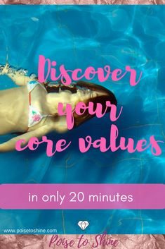 discover your core values in only 20 minutes. How To Better Yourself, Finding Yourself, Personal Core Values, Value Quotes, Best Entrepreneurs, Positive Psychology, Life Purpose, Growth Mindset, Self Development