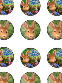 Nick jrs peter rabbit birthday invitation peter rabbit birthday full banner pdf file here full cupcake topper pdf filmwisefo Images