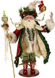 "Mark Roberts Fairy 2015 ""Most Wonderful Time Santa"" 24 Inch standing Christmas Fairy, Father Christmas, Santa Christmas, All Things Christmas, Christmas Ornaments, Christmas Ideas, Mark Roberts Elves, Mark Roberts Fairies, Santa Doll"