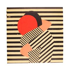 Sometimes you just really need a hug. I love this geometric illustration full of emotion by artist Paul Thurlby.
