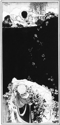 Kay Nielsen The Book of Death can find Kay nielsen and more on our website.Kay Nielsen The Book of Death Kay Nielsen, Botanical Illustration, Illustration Art, Pop Art, Art Nouveau, Art Deco, Black And White Drawing, Chinese Art, Chinese Painting